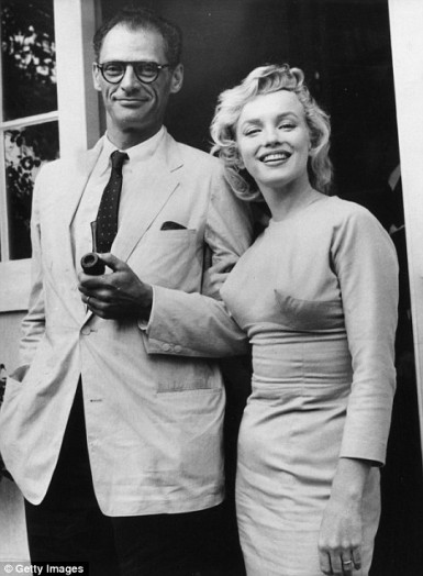 The couple in 1956